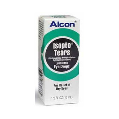 Alcon Isopto Tears Lubricant Eye Drops