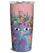 Studio Oh! Insulated Stainless Steel Tumbler Fancy Cat