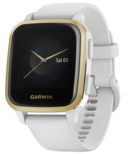 Garmin Venu Sq White with Light Gold Bezel
