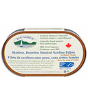 Bar Harbor Smoked Sardine Fillets in Maple Syrup