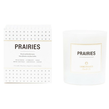 Vancouver Candle Co. Prairies Boxed Candle