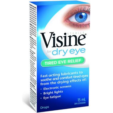 Visine Tired Eye Relief Eye Drops