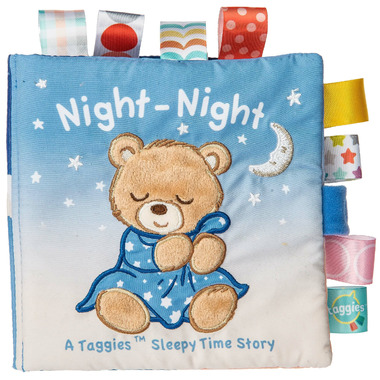 Taggies Mary Meyer Starry Night Teddy Soft Book