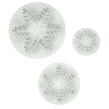 Snow Flake Fondant Cutters