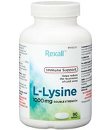Rexall L-Lysine 1000 mg Double Strength