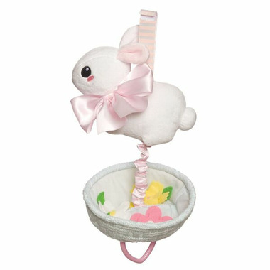 Manhattan Toy Lullaby Bunny Pull Musical Toy