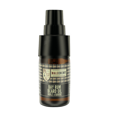 Malechemy by Cocoon Apothecary Bay Rum Beard Oil
