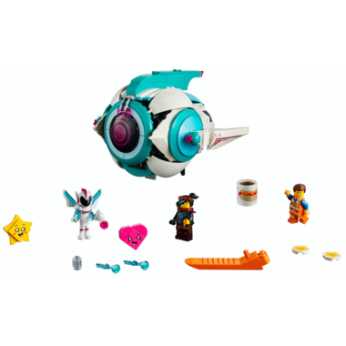 LEGO The LEGO Movie 2 Sweet Mayhem\'s Systar Starship