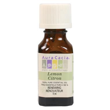 Aura Cacia Lemon Essential Oil