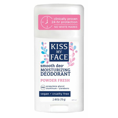 Kiss My Face Smooth Deo Powder Fresh Stick