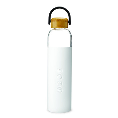 SOMA Tall Water Bottle White