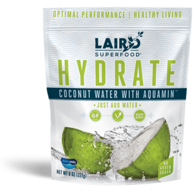 Laird Superfood Hydrate Coconut Water with Aquamin