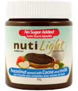 Nutilight Hazelnut Spread with Cocoa and Milk