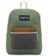 Jansport Exposed Backpack Muted Green & Soft Tan 25 L