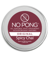 No Pong All Natural Anit-Odourant Spicy Chai Original