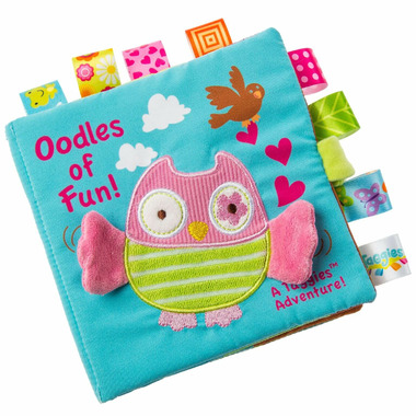 Taggies Mary Meyer Oodles Owl Soft Book