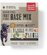 The Honest Kitchen Grain Free Fruit & Veggie Base Mix Recipe for Dogs