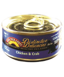 Lick Your Chops Distinctive Delicacies Chicken & Crab Cat Food Case