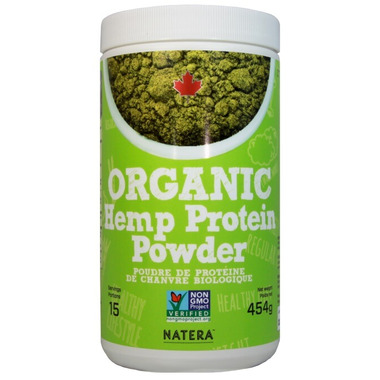 Natera Organic Hemp Protein Powder