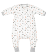 Nest Designs Organic Cotton Long Sleeve Sleep Suit Woodland Pals 1.0g Tog
