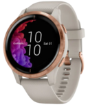 Garmin Venu Light Sand with Rose Gold