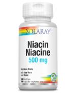 Solaray Niacin 500mg