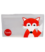 3 Sprouts Snack Bags Fox