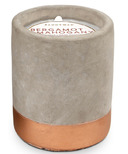 Paddywax Urban Concrete Pot Copper Bergamot & Mahogany Candle