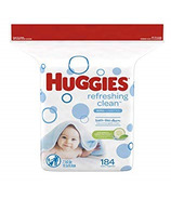 Huggies Refreshing Clean Baby Wipes Hypoallergenic Refill