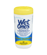 Wet Ones Antibacterial Hand & Face Wipes