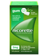 NICORETTE Gum Ultra Fresh Mint 2mg