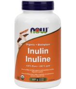 Poudre d'inuline bio 100% pure de NOW Foods
