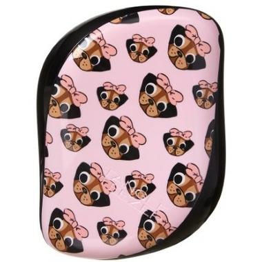 Tangle Teezer Compact Styler Detangling Hairbrush Pug Love