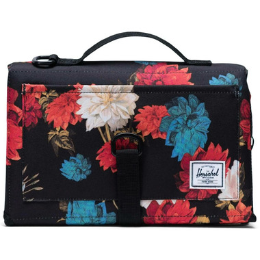 Herschel Supply Sprout Change Mat Vintage Floral Black