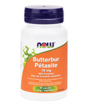 NOW Foods Butterbur Extract With Feverfew Veg Capsules