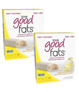Love Good Fats Lemon Mousse Snack Bar Bundle