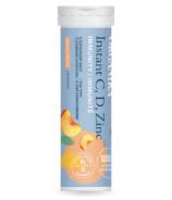 Organika Instant C Immunity Peach