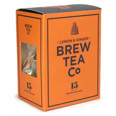 The Brew Tea Co. Lemon and Ginger Tea