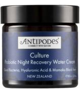 Antipodes Culture Probiotic Night Water Cream (Crème d'eau de nuit)