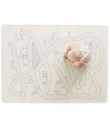Gathre Mini + Multipurpose Leather Mat Playmat in Print Village