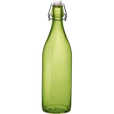 Bormioli Rocco Giara Bottle with Stopper Green
