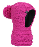 Kombi The Snood Childrens Balaclava Violet Rose