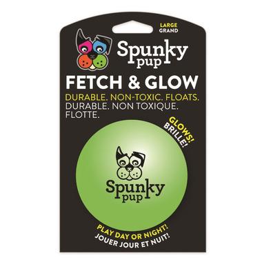 Spunky Pup Fetch & Glow Ball Large