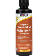 NOW Foods Organic Flax Seed Oil