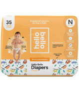 Hello Bello Jumbo Diapers Sleepy Sloths Print