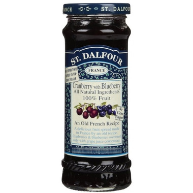 St. Dalfour Deluxe Spread Cranberry with Blueberry