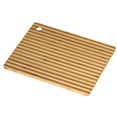 Island Bamboo Honey Stripe Small Cutting Board