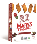 Mary's Organic Crackers Real Thin Chipotle Crackers