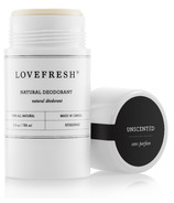 LOVEFRESH Unscented Natural Cream Deodorant Stick