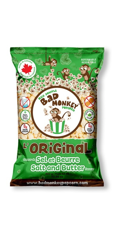Buy Bad Monkey Popcorn Salt And Butter Popcorn From Canada At Well Ca Free Shipping